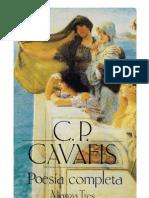 27570760 Cavafis C P Poesia Completa
