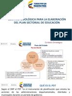 Guia Metodológica Sectorial Educación
