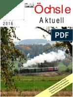 Öchsle Aktuell 1 / 2016