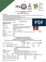 IIM Registration
