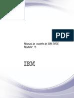 Manual de Usuario de IBM SPSS Modeler 16