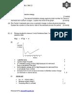 Inorganic Chemistry ( MPM Revision Set 2)
