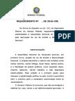 Requerimento de voto de aplauso para Lei da Anistia na Venezuela