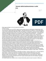 lineadifrontiera.com-Rodolfo Walsh o sul dovere della testimonianza e sulle possibilità della finzione