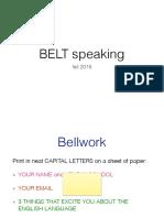 9 14 15 Belt Speaking Class 1 PDF