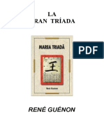 17a-Guénon, René- La Gran Tríada