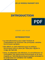 COURS GPE 2010 Cours Modele Budget Eco I