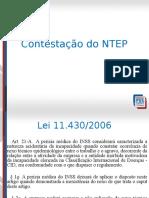 NTEP - CONTESTA��O