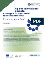 Eco Innovation Brief