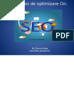 Optimizare Site Web on Page