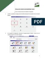 Creación de Artículos de Venta en ICG FrontRest