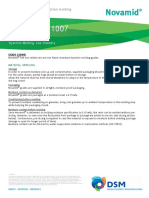 Novamid1007 Injection Recommendations