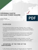 fukushima daiichi nuclear power disaster  case ppt