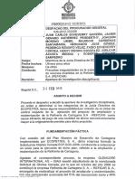 Documento Procuraduría abre investigación MinHacienda