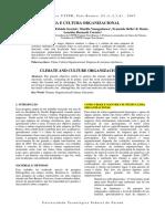 Clima e Cultura Organizacional (1)