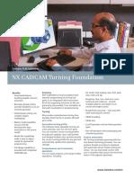 Siemens PLM NX CAD CAM Turning Foundation Fs Tcm903 118147