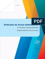 Protocolos Acesso Ambulatorial Consulta Especializada