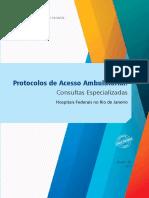 Protocolos Acesso Ambulatorial Consulta Especializada