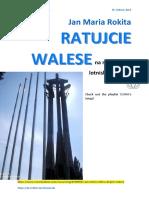 Jan Maria Rokita RATUJCIE WALESE na niemieckim lotnisku PDO289 Magazyn Europejski 20160225 SOWA