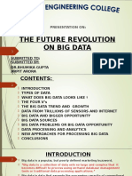 FUTURE REVOLUTION ON BIG DATA