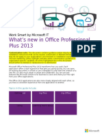 3630 What's New in Office Professional Plus 2013 Wsg External