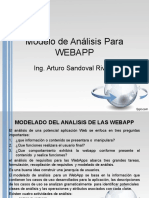 Modelo de Análisis Para WEBAPP