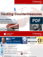 Week 4 - Hacking Countermeasures Slides
