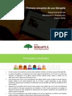 Encuesta Tablets Ibirapitá