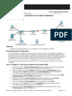 Configuración Del WEP en Un Router Inalámbrico