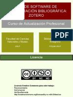 Curso Zotero Actualización Profesional