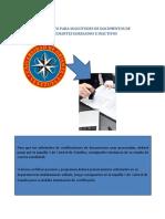 Instructivo Para Solicitudes de Documentos de Estudiantes Egresados e Inactivos