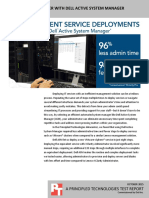 More efficient service deployment with Dell Active System Manager