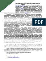EDAD CRONOLÓGICA PARA LA MATRÍCULA 2016 EN INICIAL Y PRIMER GRADO DE PRIMARIA