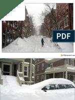 Nevicata a Boston