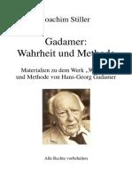 Philosophie Gadamer Wahrheit Und Methode Wiki