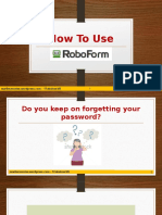 How to Use Roboform