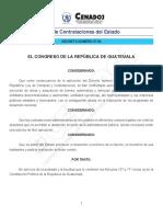 Ley de Contrataciones Del Estado d57-92 Reformas 2015