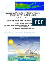 """""""Causes & Effects of Climate Change"""