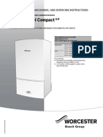 Greenstar Cdi Compact Combi ErP Installation and Servicing Instructions