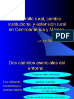 Desarrollo Rural y Extension Rural