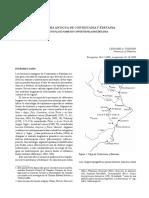 Toponimia antigua de Contestania y Edetania