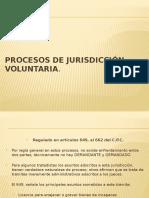 PROCESOS+DE+JURISDICCIÓN+VOLUNTARIA