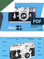 Leica m2 Brief Manual