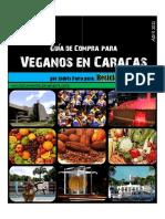 Guia de Alimentacion  Vegana Para Caracas