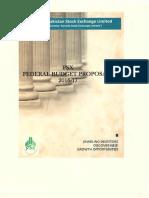 PSX Budget Proposal
