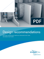 Pumping Stations Design Recommendations Flygt