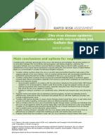 Zika Virus Rapid Risk Assessment 8 February 2016
