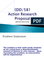 edd 581 action research proposal