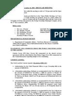 2009-11-24 Regular Council Meeting Minutes