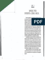 Manual Entrevista Clinica